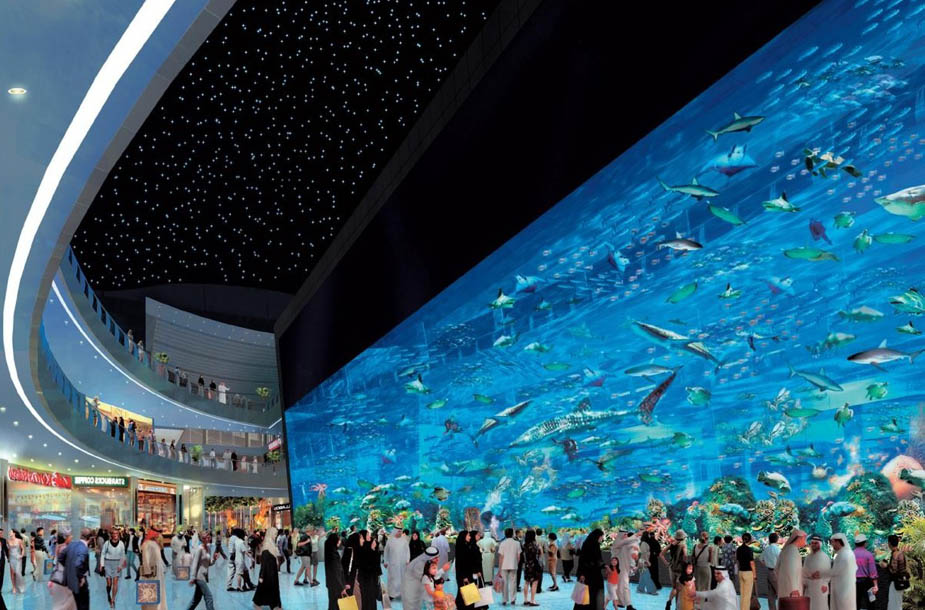 Mall of the World in Dubai, UAE