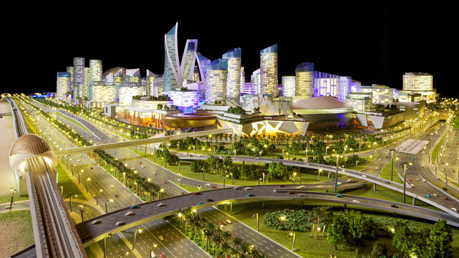 complex The Mall of the World, Dubai, UAE