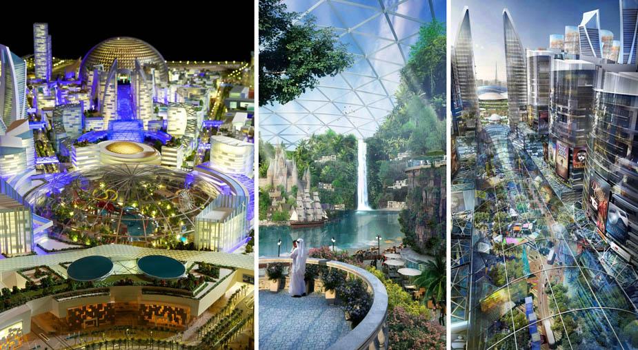 complex The Mall of the World, Dubai