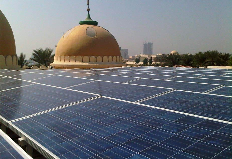 эко-мечеть Халифа Аль Таджер в Дубае