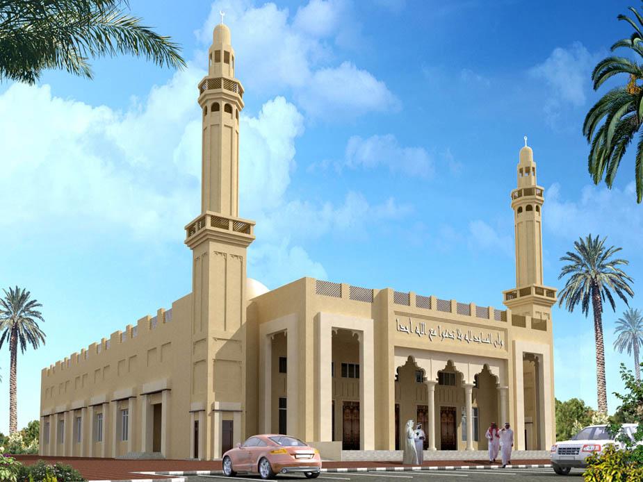 эко-мечеть Халифа Аль Таджер