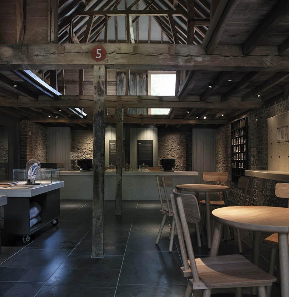 кафе в музее Дитчлинга