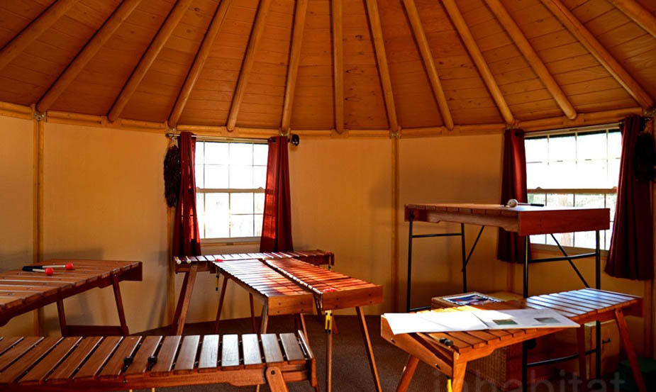 Freedom Yurt Cabin interior