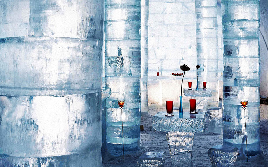 Ice-bar by Ice-hotel