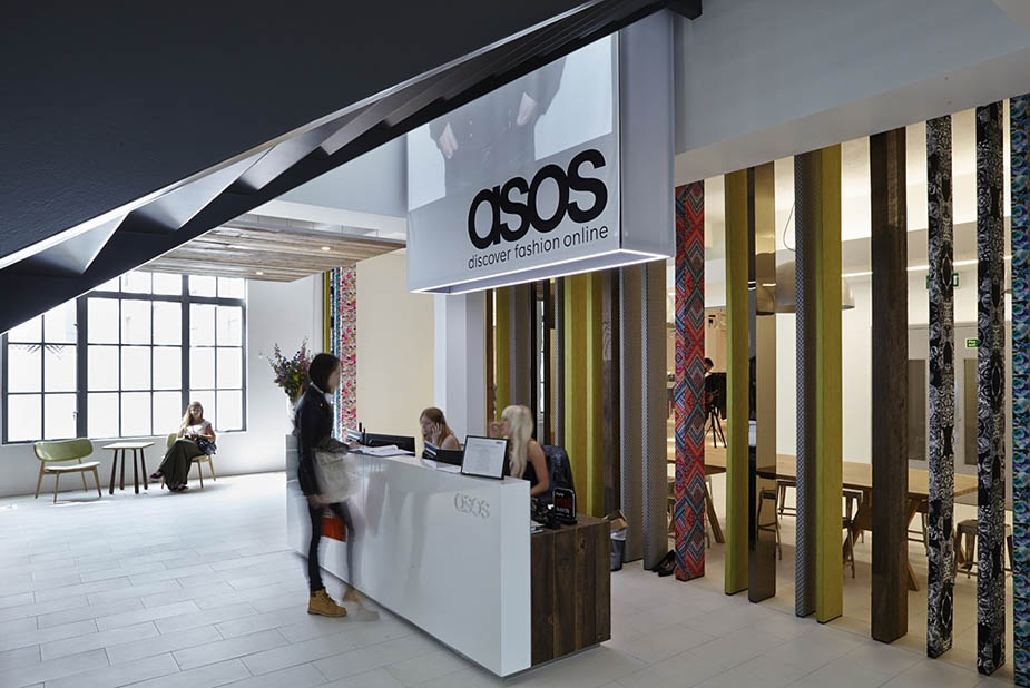 ASOS office reception