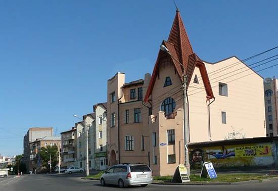 дом Чернышева