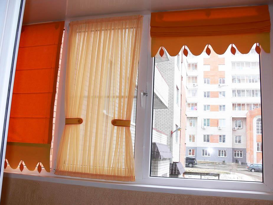 Пошить шторы для балкона